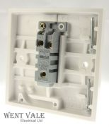 MEM Intra - M022 (F2401)  - 10ax One Gang Two Way Plate Switch New